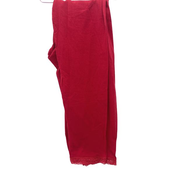 بنطال سوري أحمر XL